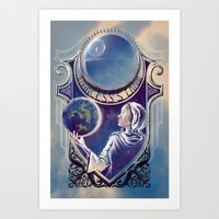 A Princess's Lament Art Print