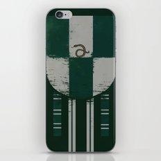 slytherin crest iPhone & iPod Skin