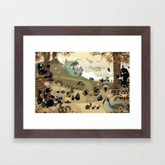 The Octonauts Sea Of Sha… Framed Art Print