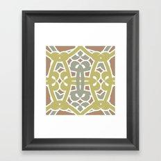 Pattern Print Edition 1 No. 3 Framed Art Print