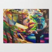 Love is a Symphony Canvas Print
