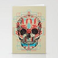 Skull Native Stationery Cards