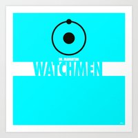 Watchmen 2.0 - Dr. Manha… Art Print