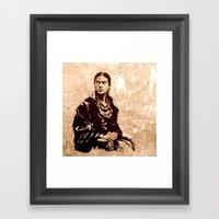 FRIDA - The Mistress Of … Framed Art Print