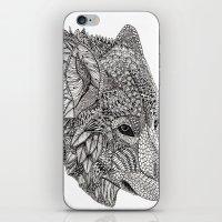 Tribal Wolf iPhone & iPod Skin