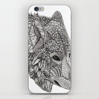 Tribal Wolf iPhone & iPod Skin