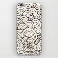 Dot Cluster 4 iPhone & iPod Skin