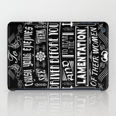 What is best in life... iPad Case