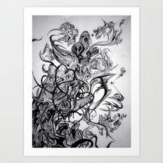 Higher Art Print