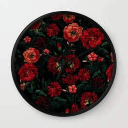 Wall Clock - RED NIGHT - VS Fashion Studio