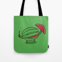 A Happy Slice of Life Tote Bag