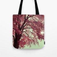 Autumn Blood Tote Bag