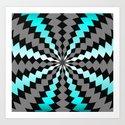 Maze Me Art Print