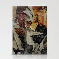 Peeling: Blonde Woman Stationery Cards