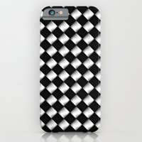 iPhone & iPod Case featuring Black and White 1 by Alice Gosling