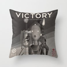 Propaganda Series 9 Throw Pillow