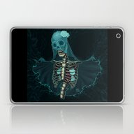 Skeleton With Veil And W… Laptop & iPad Skin