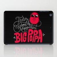 French Poppa 2.0 iPad Case