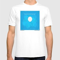 No134 My UP minimal movie poster Mens Fitted Tee White SMALL