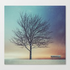 Under The Urban Sky Canvas Print