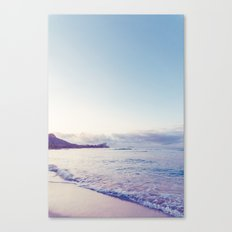 beach time ver.pink Canvas Print