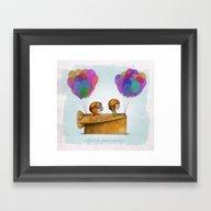 UP Pixar— Love Is Th… Framed Art Print