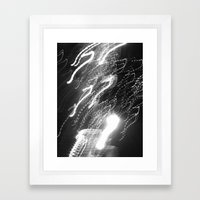 WHITEOUT : Ecstasy Framed Art Print