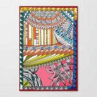 C13 doodle 6 Canvas Print