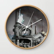 Zyklus Tretmühle Wall Clock