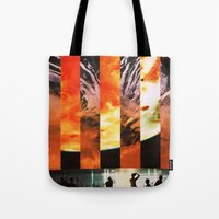 orbiting 70 miles above the moon Tote Bag