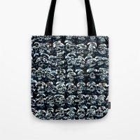 Abstract Series of Skulls Tote Bag