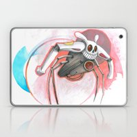 Attack Of The Bunny Bot Laptop & iPad Skin