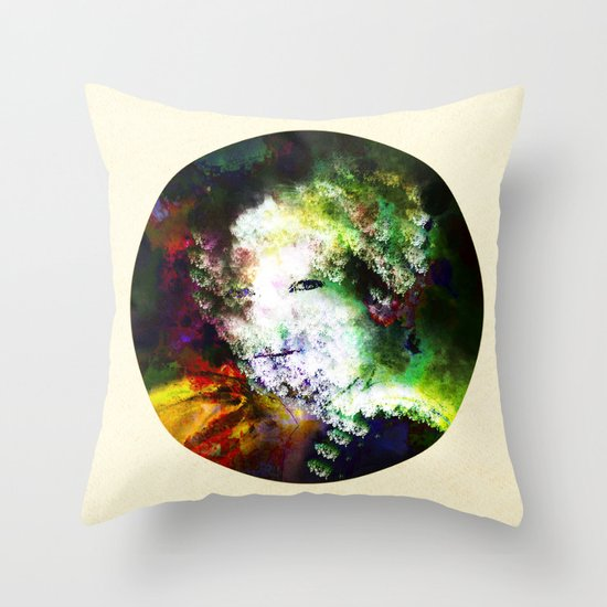 In Waiting_2 Throw Pillow