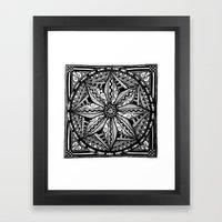 Tangled Zen Framed Art Print