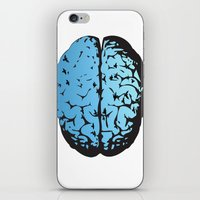 Bird Brain iPhone & iPod Skin