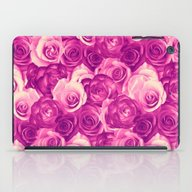 Roses Carpet In Vintage … iPad Case