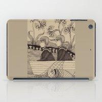The Golden Fish (2) iPad Case