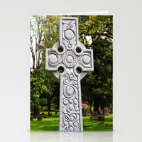 Celtic Spring Stationery Cards