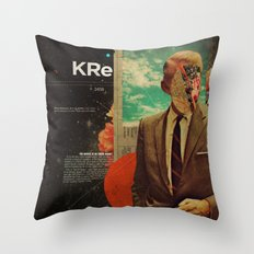 Exhaling My Thoughts Throw Pillow