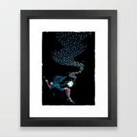 Aurora's Lights Framed Art Print
