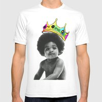 Baby Big Mens Fitted Tee White SMALL