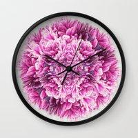 the pinkest  Wall Clock