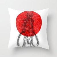 Ikki 4 Japan Throw Pillow