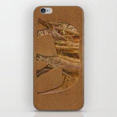 Rainforest Elephant - Tribal African Art Style iPhone & iPod Skin
