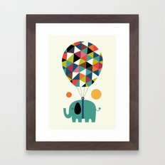 Fly High And Dream Big Framed Art Print