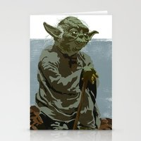 There Is No Try. Stationery Cards