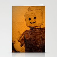 Old Lego Stationery Cards