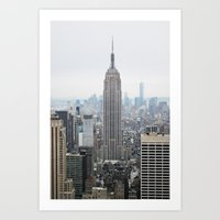 Dreamy NYC Art Print