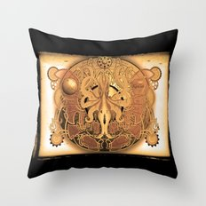 OCTO-CHAO Throw Pillow