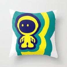 Spaceman 04 Throw Pillow